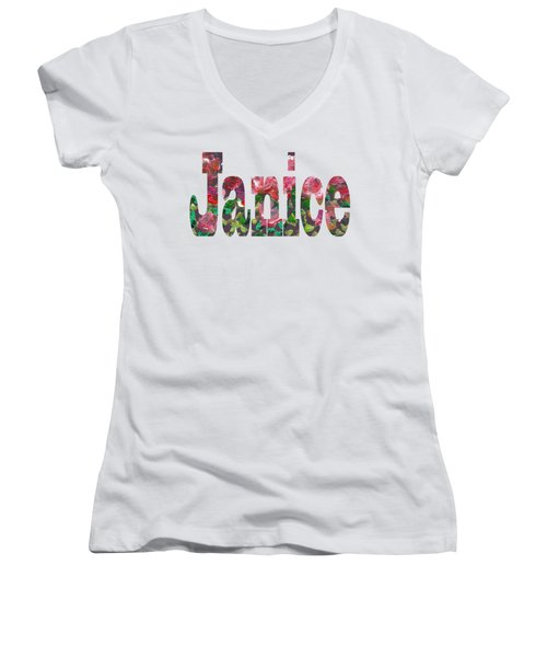 Janice Women's V-Neck