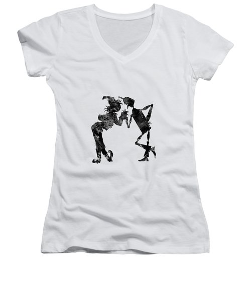 Tin Woodman And Scarecrow Women's V-Neck (Athletic Fit)