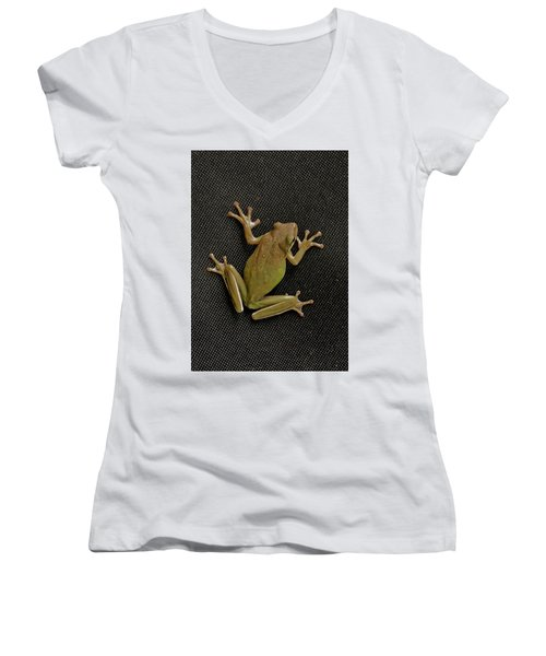 Tree Frog Women's V-Neck