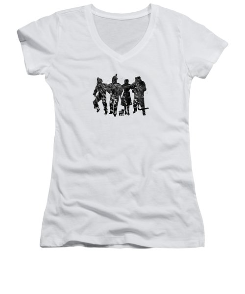 Wizard Of Oz Women's V-Neck (Athletic Fit)