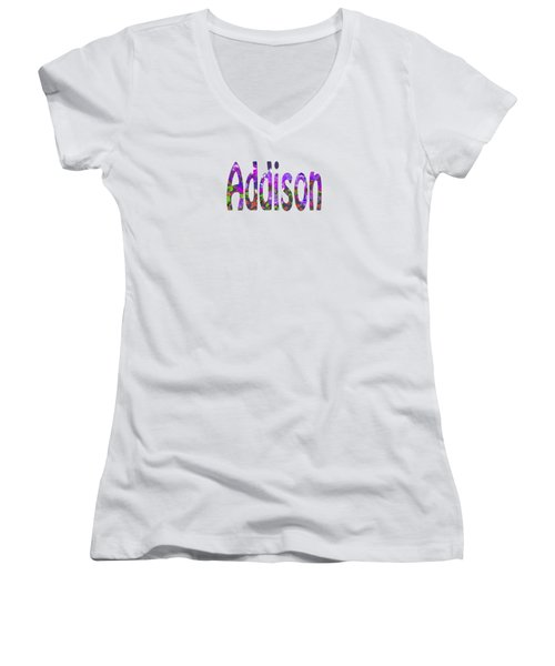 Addison Women's V-Neck