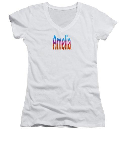 Amelia Women's V-Neck