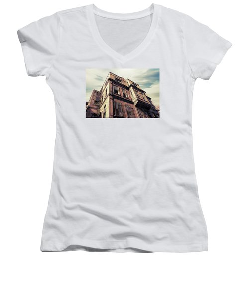 Angles Of Attrition Women's V-Neck