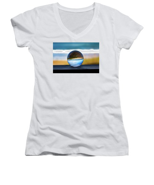 Another Look Through The Lens Women's V-Neck