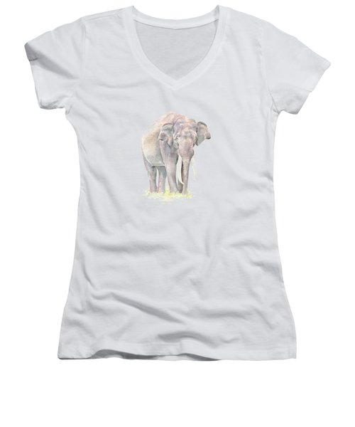 In Charge Women's V-Neck