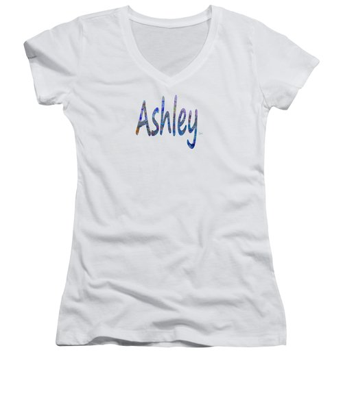 Ashley Women's V-Neck