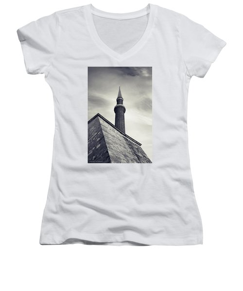 At Mosque-point Women's V-Neck