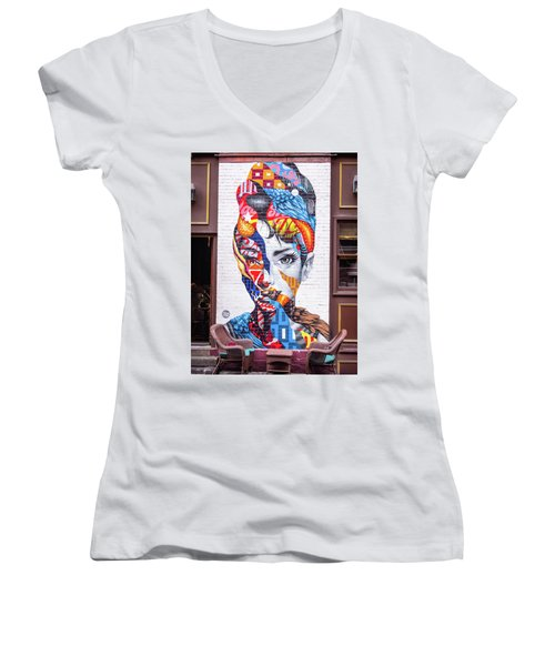 Audrey Women's V-Neck