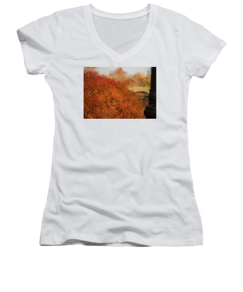 Autumn Maple Women's V-Neck
