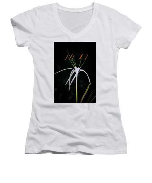 Blooming Poetry 3 Women's V-Neck