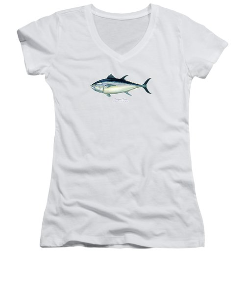 Bluefin Tuna Women's V-Neck