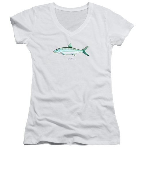 Bonefish Women's V-Neck