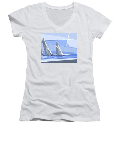 C-class Yachts Women's V-Neck
