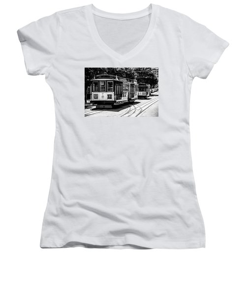 Cable Cars Women's V-Neck