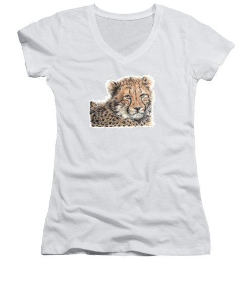Cheetah Cub Women's V-Neck