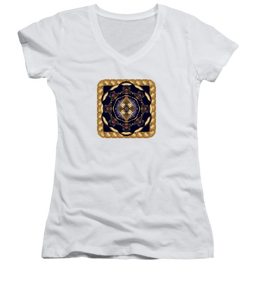 Circumplexical No 3584 Women's V-Neck