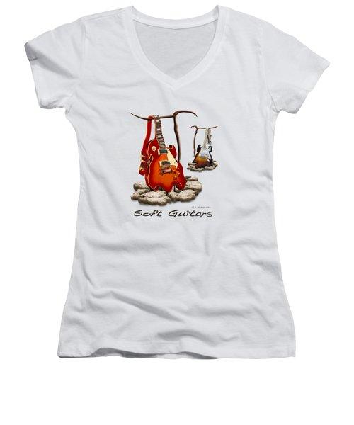Classic Soft Guitars Women's V-Neck