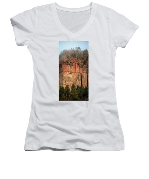 Cliff Face Women's V-Neck