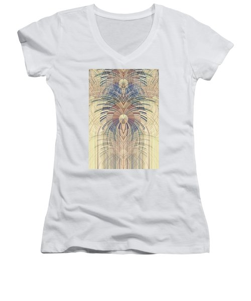 Deco Wood Women's V-Neck