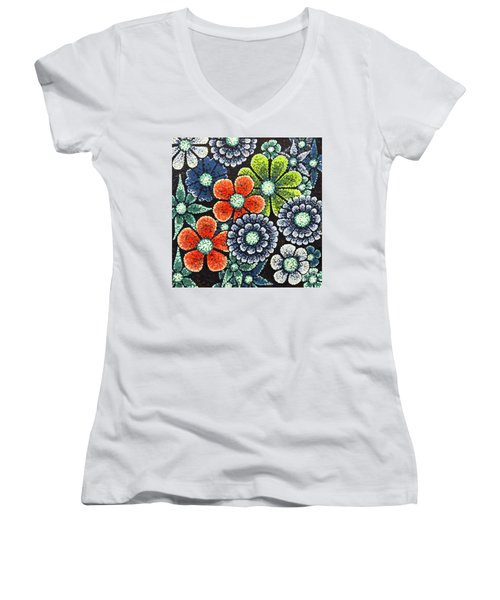 Efflorescent 3 Women's V-Neck