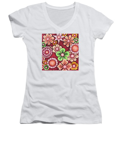 Efflorescent 5 Women's V-Neck