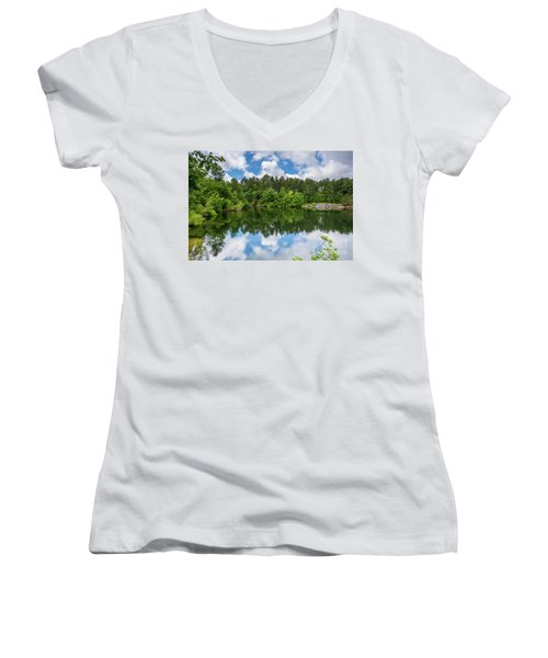 Euchee Creek Park - Grovetown Trails Near Augusta Ga 1 Women's V-Neck