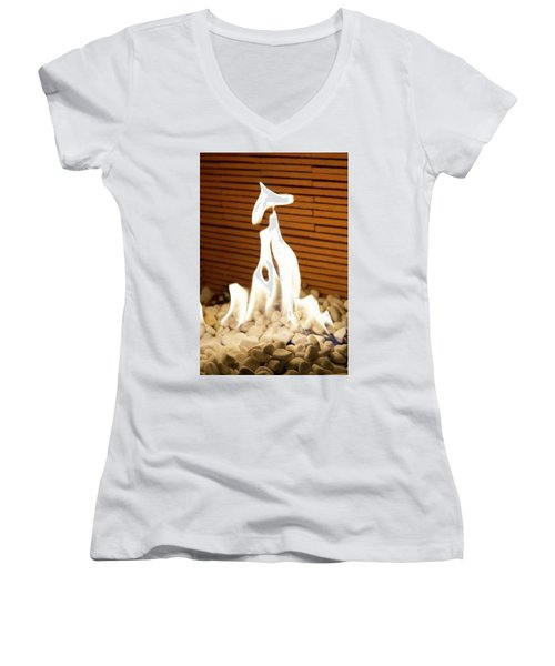 Fire Women's V-Neck