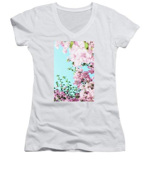 Floral Dreams I Women's V-Neck