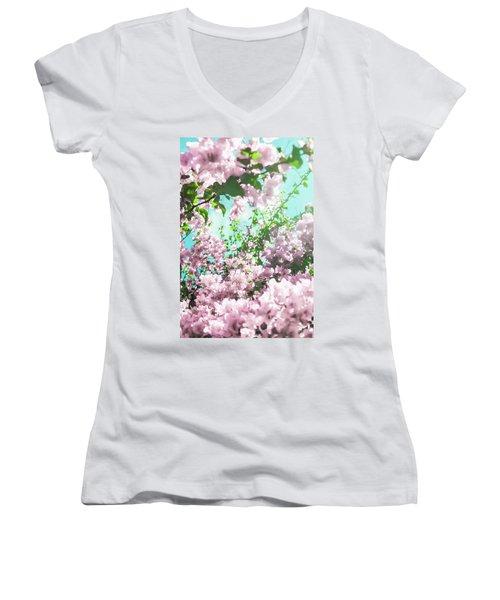 Floral Dreams Iv Women's V-Neck