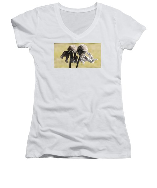Ghost Sisters Women's V-Neck