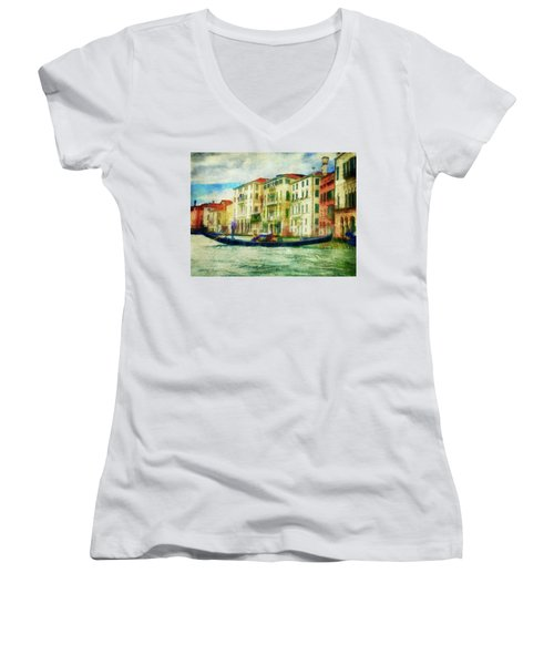 Gondola Ride Women's V-Neck
