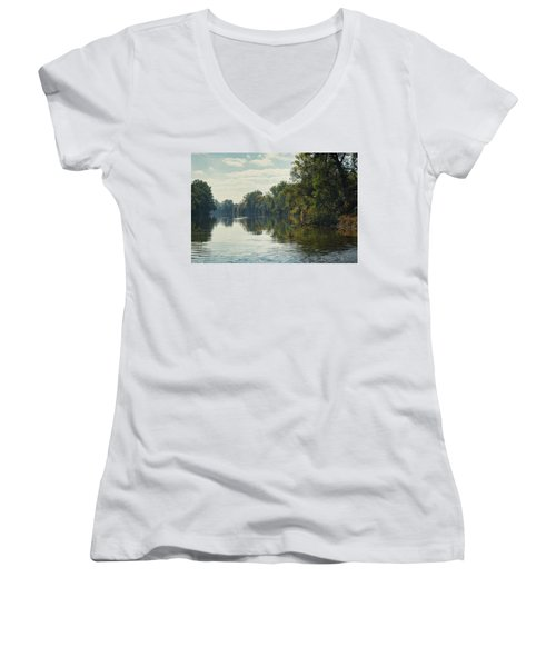 Great Morava River Women's V-Neck