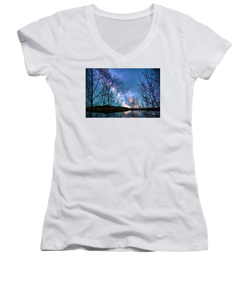 Heaven And Earth Women's V-Neck