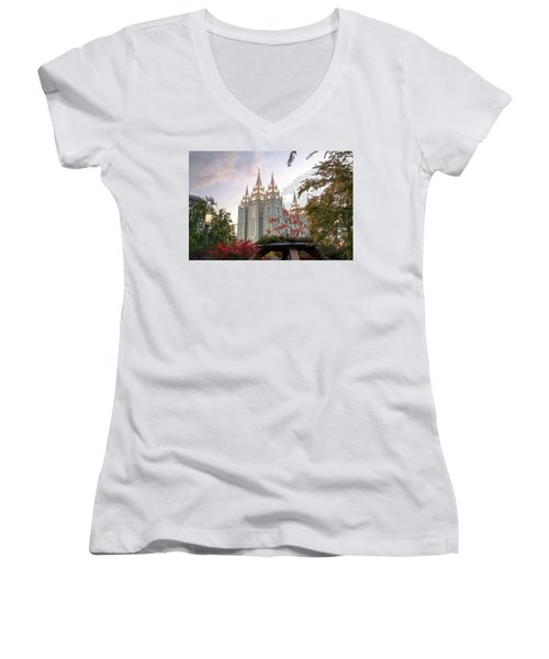 House Of The Lord Women's V-Neck
