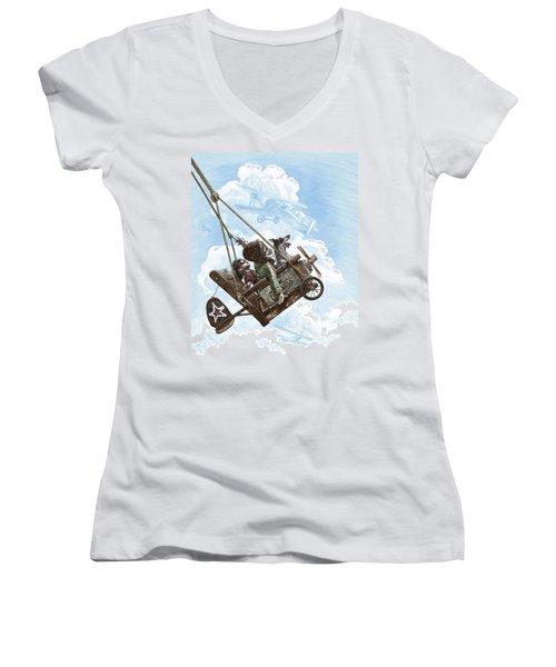 I Want To Fly Women's V-Neck
