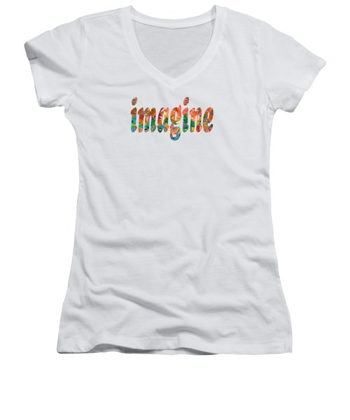 Imagine 1004 Women's V-Neck