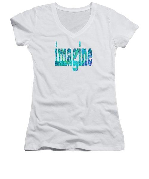 Imagine 1013 Women's V-Neck