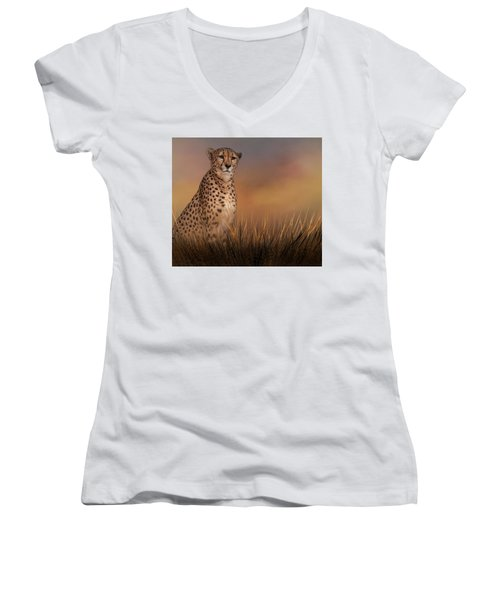 In The Brush Women's V-Neck