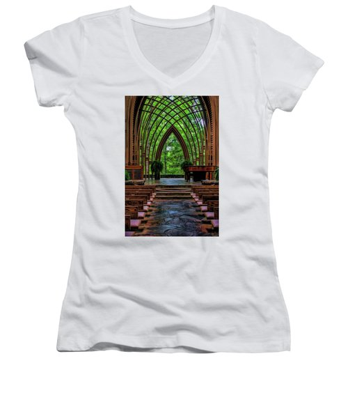Inside The Chapel Women's V-Neck