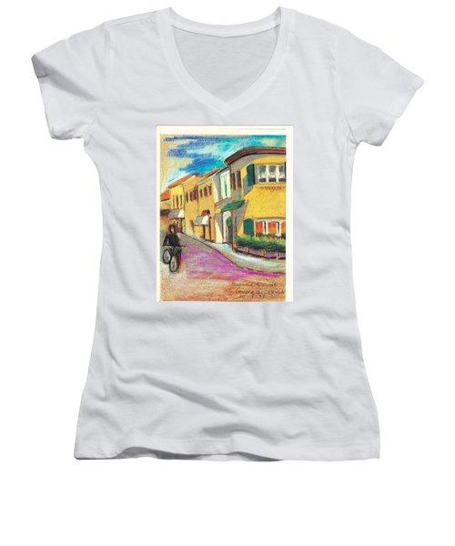 La Bichicletta Women's V-Neck