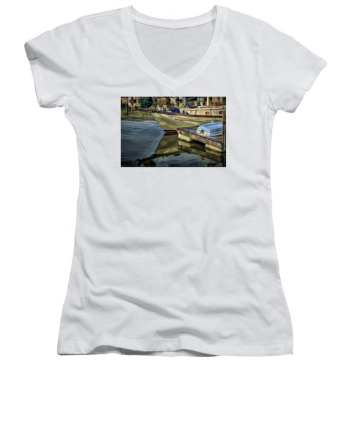 Lake Dardanelle Marina Women's V-Neck