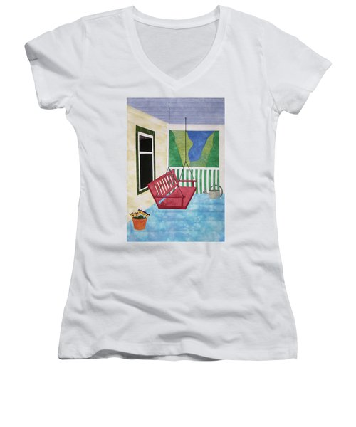 Lazy Summer Afternoon Women's V-Neck