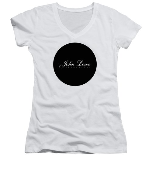 Logo Women's V-Neck