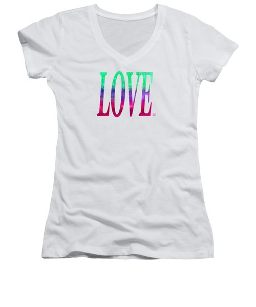 Love Women's V-Neck