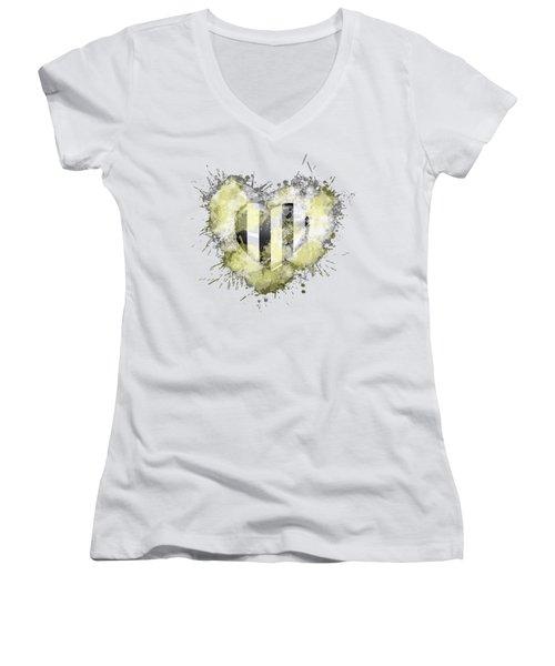 Love Juve Women's V-Neck