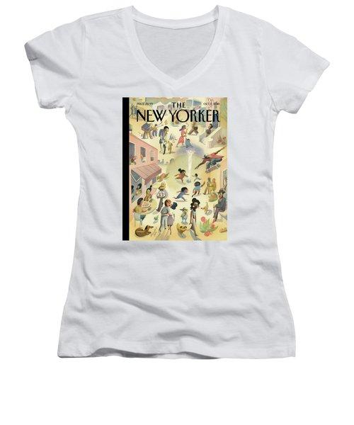 Lower East Side Women's V-Neck