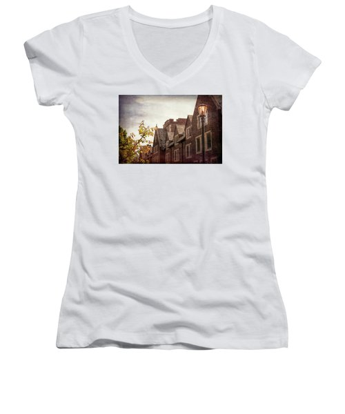 Mayslake Historic Home Women's V-Neck