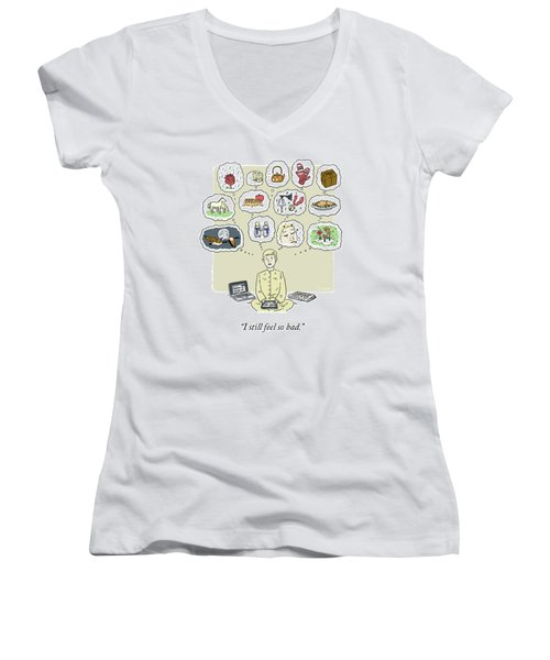 My Favorite Things Women's V-Neck