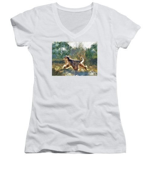 On The Move Women's V-Neck