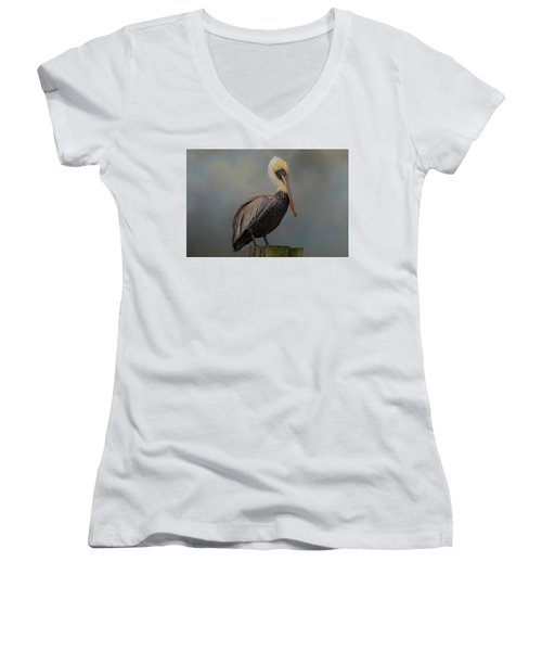 Pelican's Perch Women's V-Neck